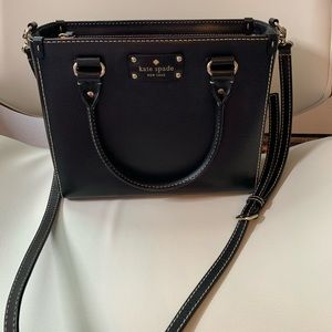 Kate Spade Small Crossbody Quinn Wellesley Black